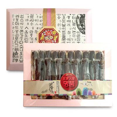 홍삼 진과800g(선물용고급바구니) / 홍삼정과